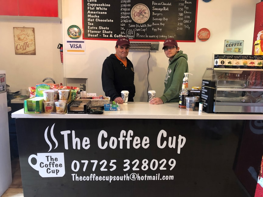 The Coffee Cup at Pulborough station