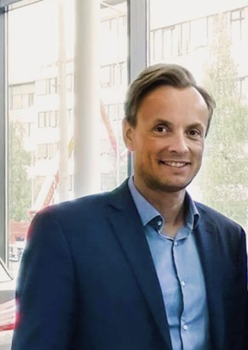 Morten Dahle, salgs- og markedsdirektør Bavaria Norge