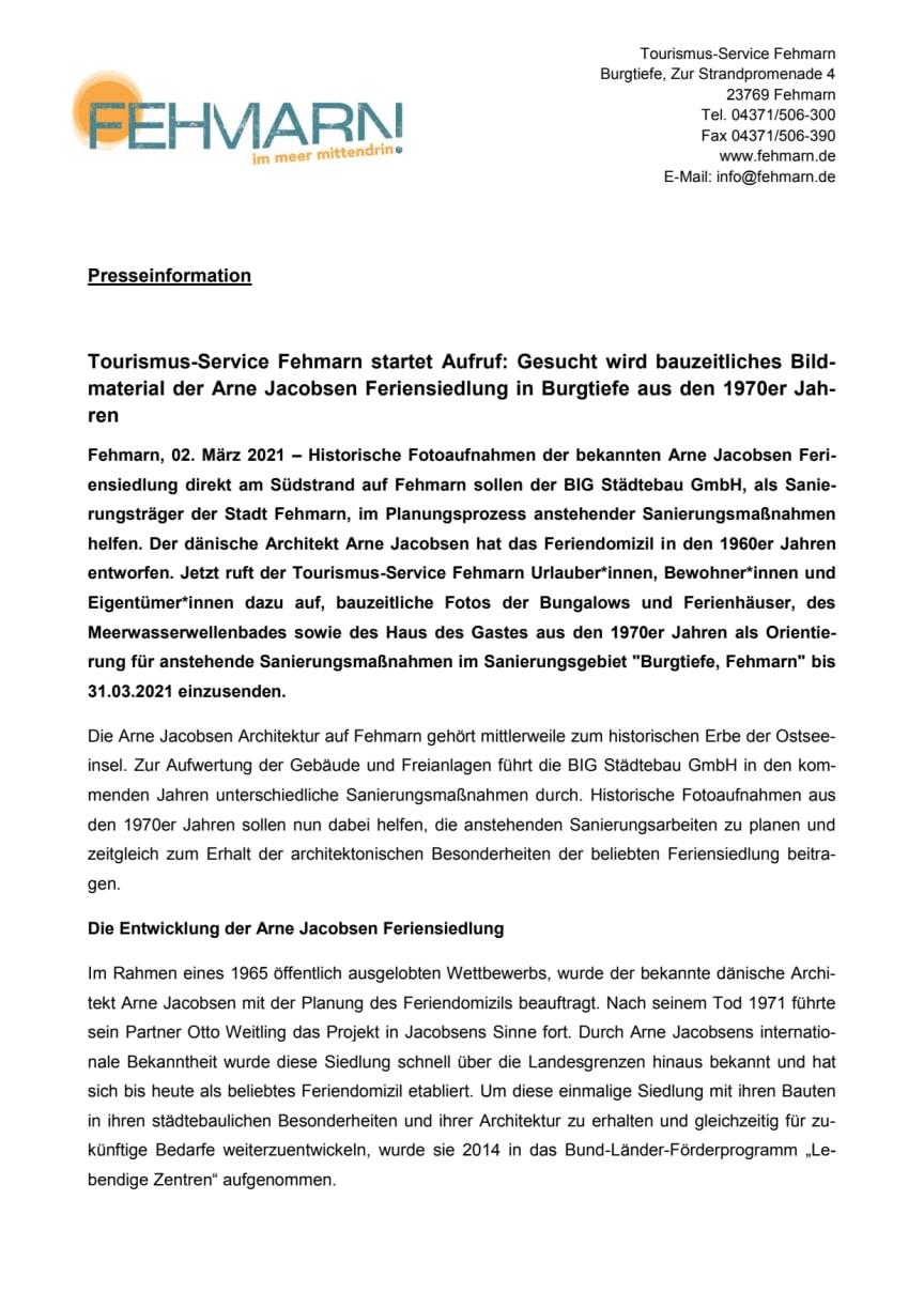Pressemitteilung_Tourismus-Service Fehmarn startet Aufruf_historisches Bildmaterial.pdf
