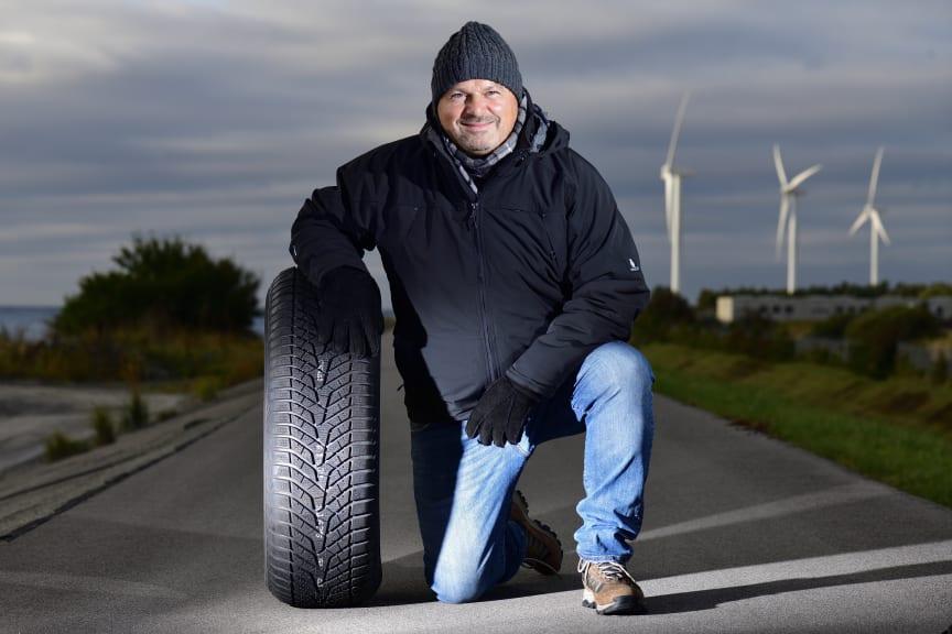 Jannick Ditlevsen, formand for Dækimportørforeningen