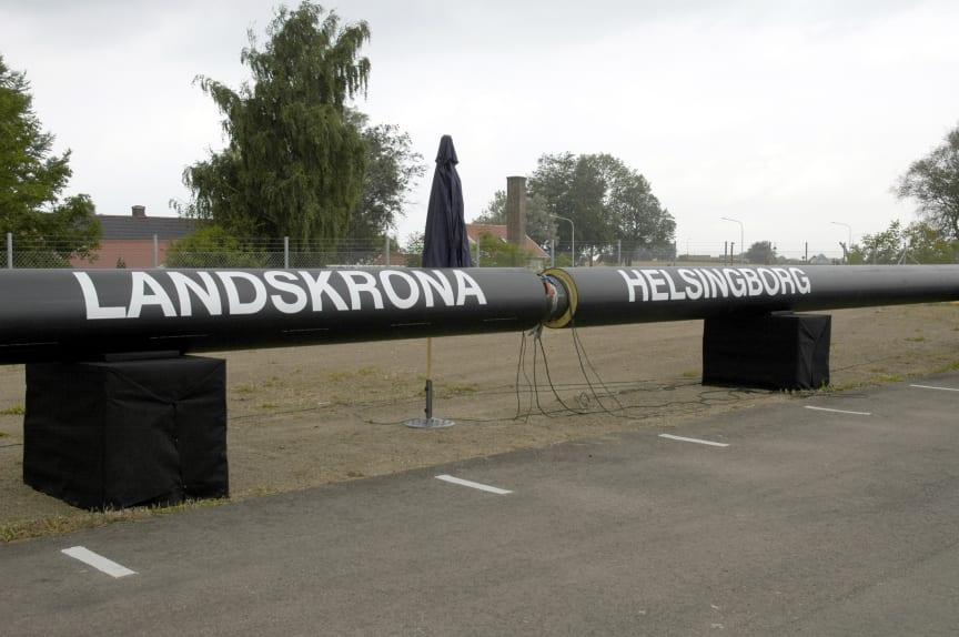 Fjärrvärmeledning Landskrona 2005