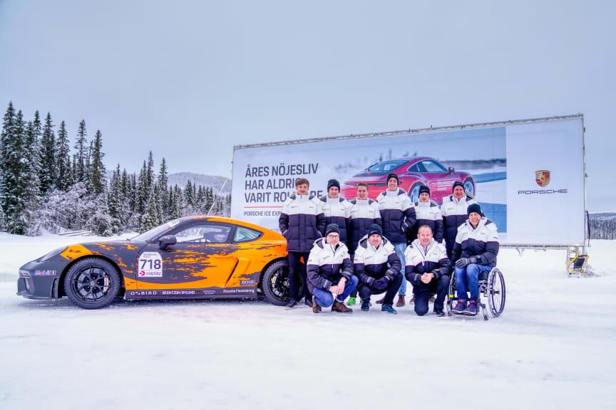 Porsche Carrera Cup Scandinavia: Förarutvecklingsprogrammet Driver Development Programme inleder säsong två med kickoff i Åre.