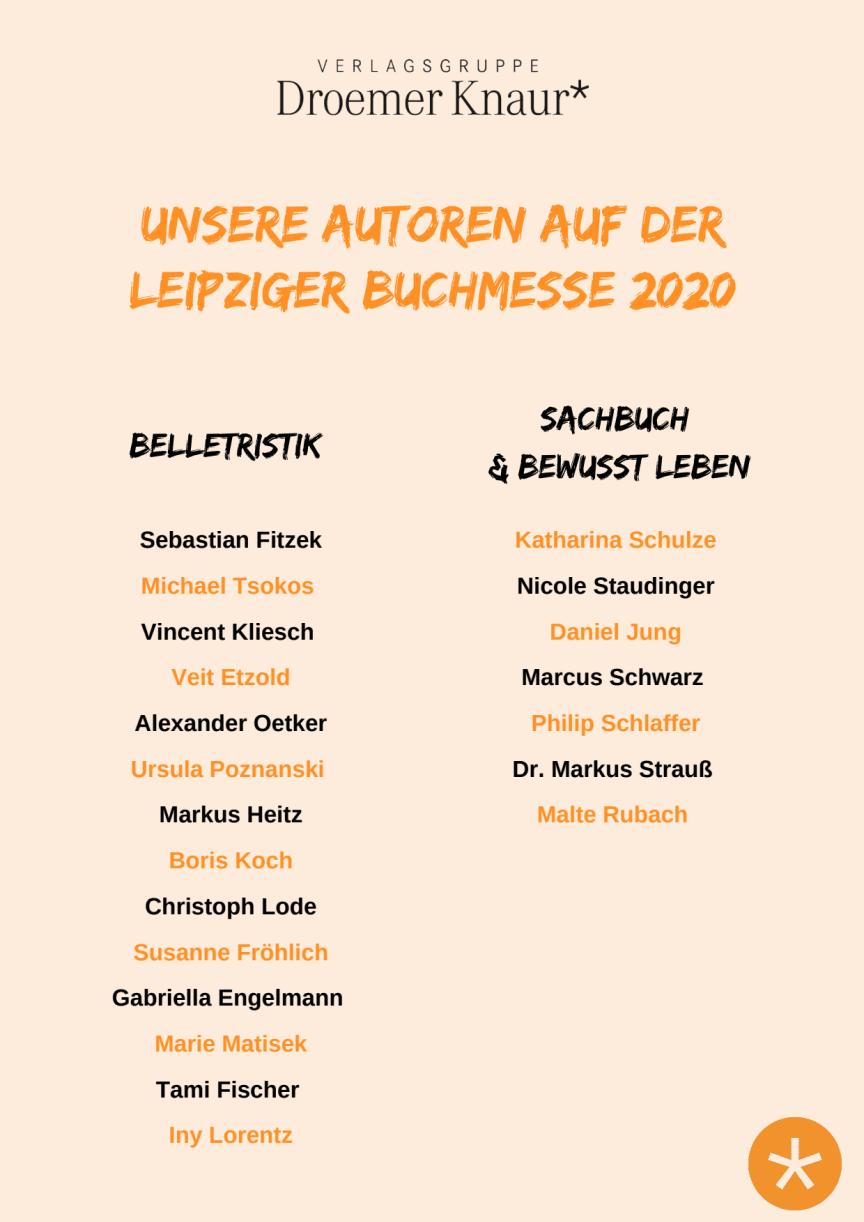 Unsere Autoren auf der Leipziger Buchmesse