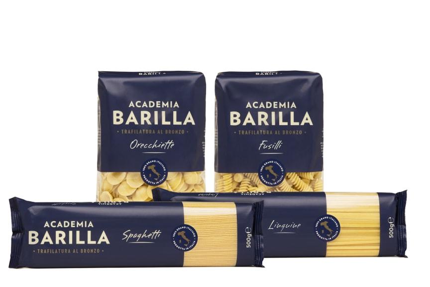 Academia Barilla sortiment