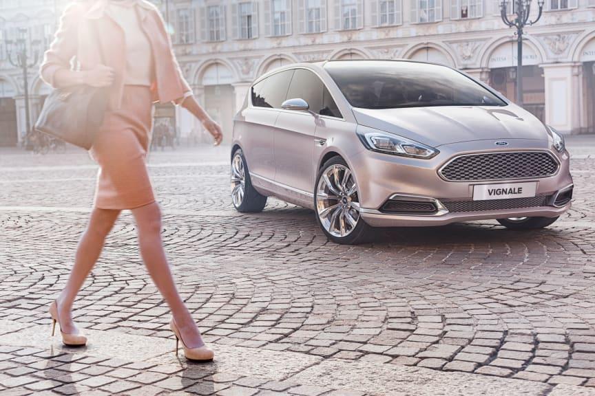 Ford presenterar konceptet S‑MAX Vignale på världens ledande möbelmässa i Milano
