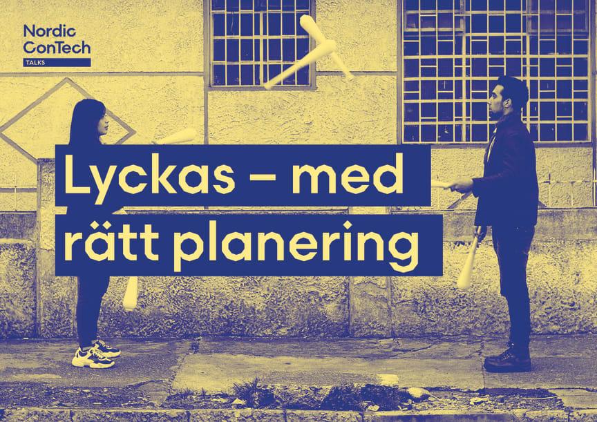 Nordic Contech Talks 22 juni