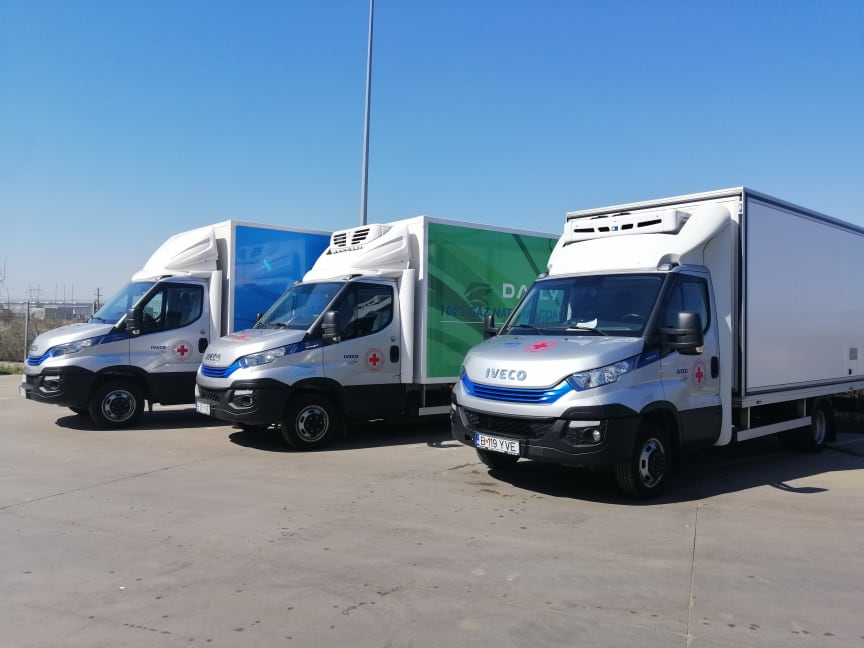 IVECO Daily - RedCross in Romania