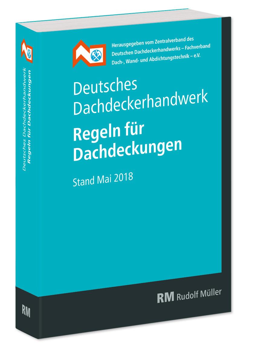 Deutsches Dachdeckerhandwerk - Regeln für Dachdeckungen (3D/tif)
