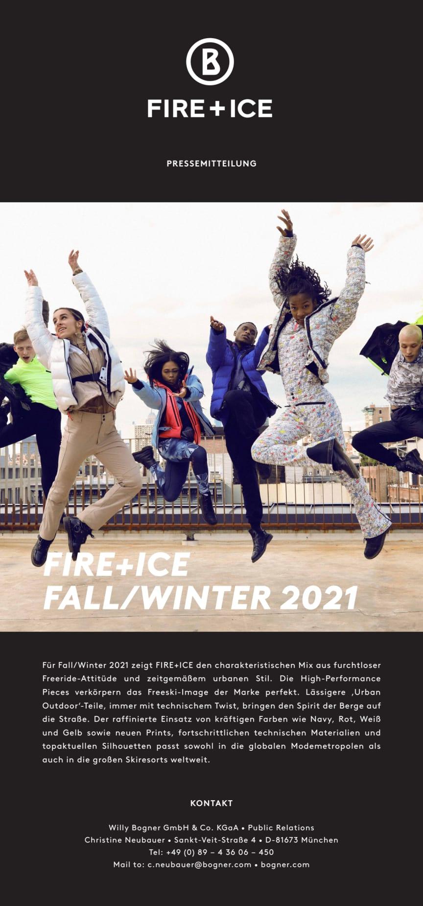 FIRE+ICE Fall/Winter 2021
