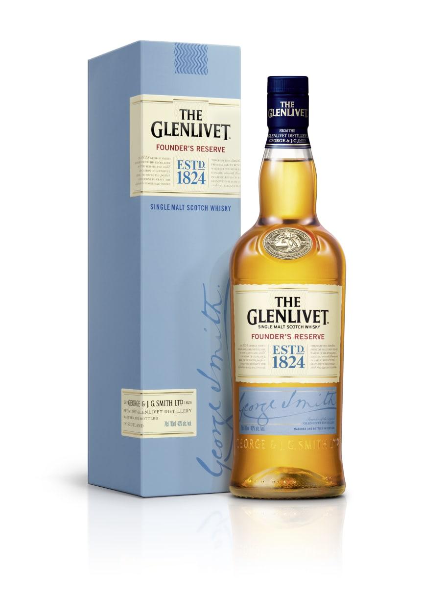 The Glenlivet Founders Reserve med box
