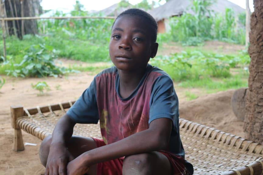 Baptisa*, 14 år i Mocambique