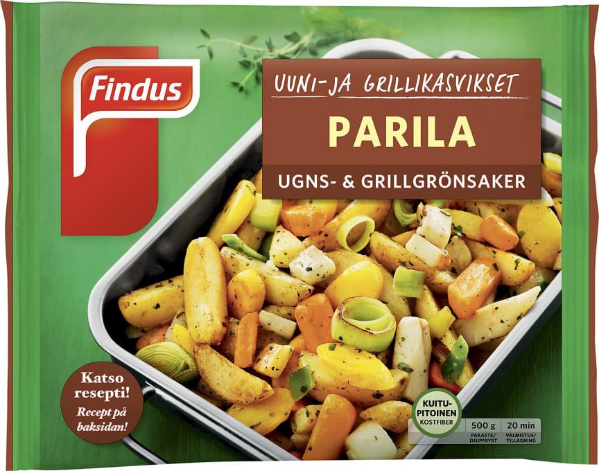 Uuni- ja grillikasvikset Parila 500g