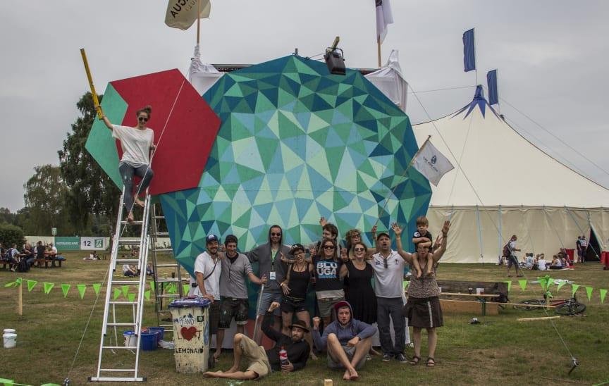 Amabex' Heidschnugge auf dem A Summer's Tale Festival 2015