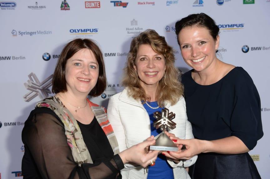 """Felix Burda Award 2013: Die Sieger """"Beste Präventionsidee"""""""