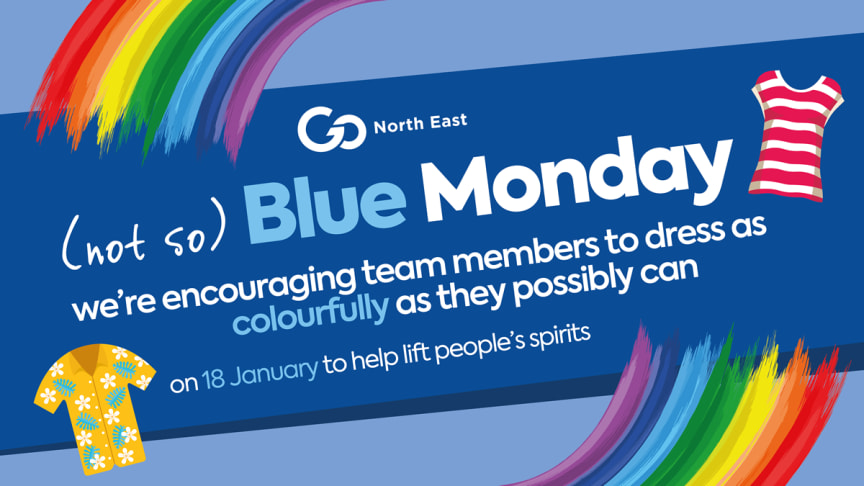 Not so Blue Monday at Go North East