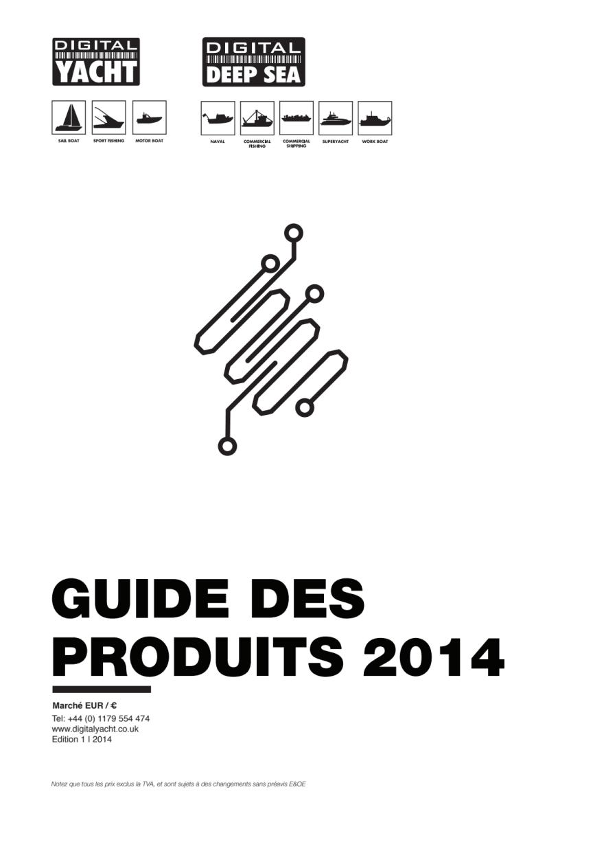 Digital Yacht 2014 Guide des produits et des prix en Francais