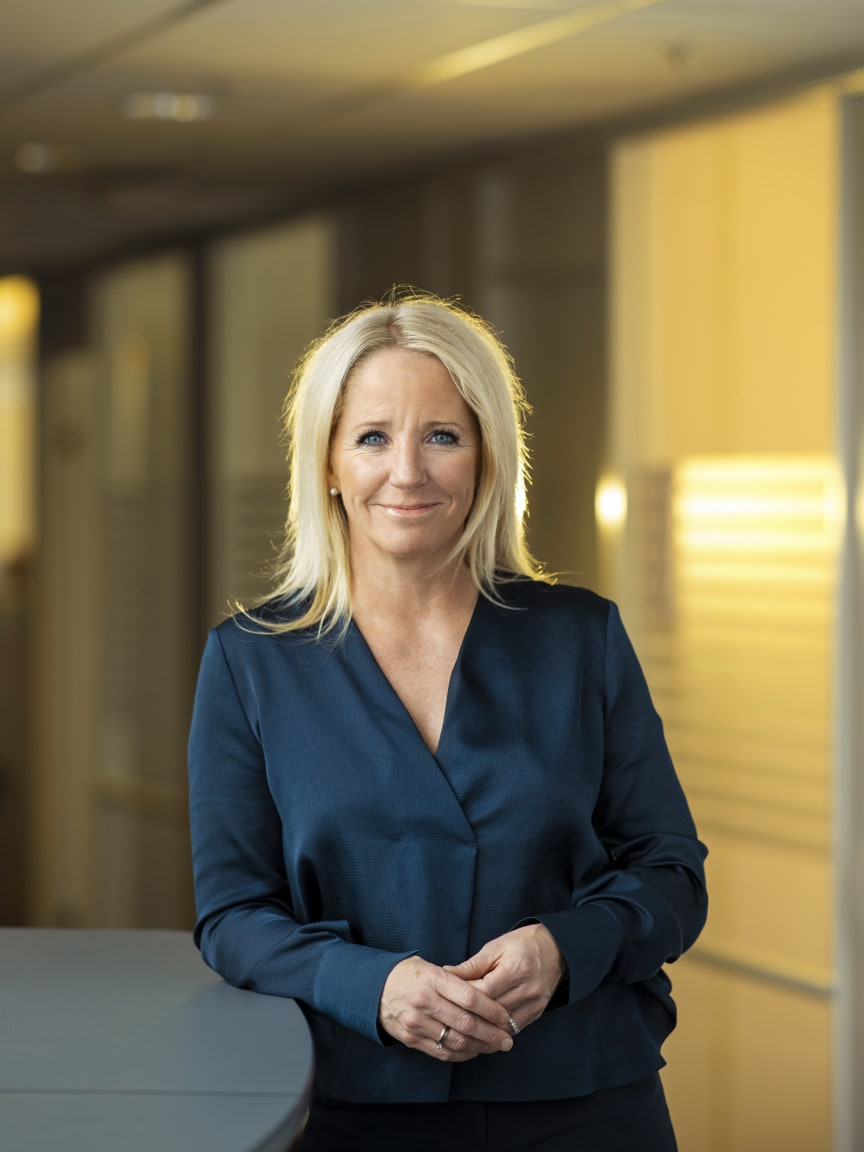 Camilla Forberg, Head of Strategic Brand and Marketing i Telia Norge