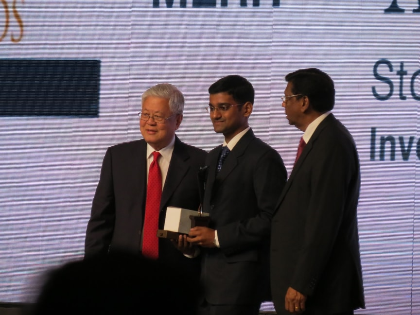 Most promising journalist of the year merit award
