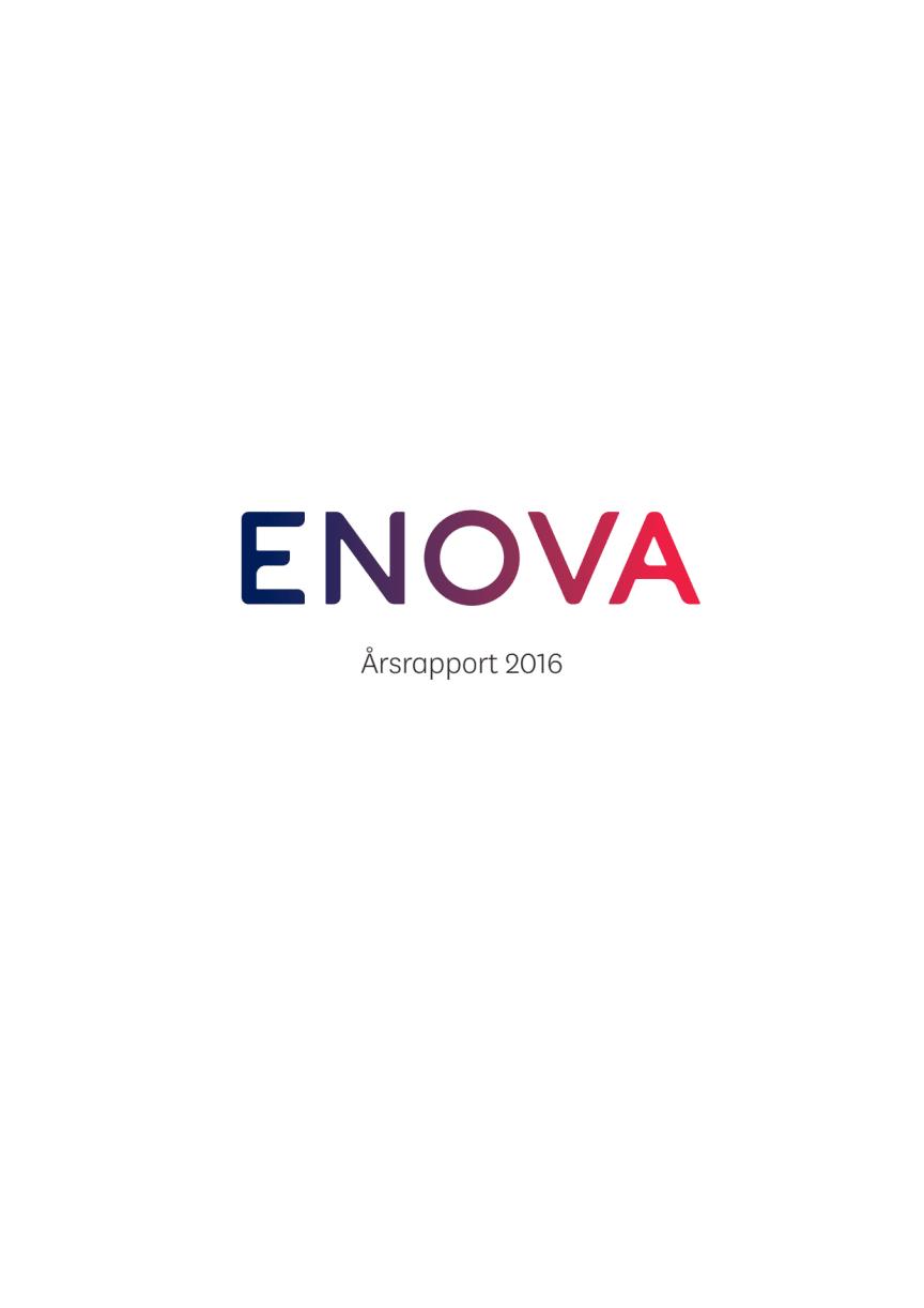 Enovas Årsrapport 2016