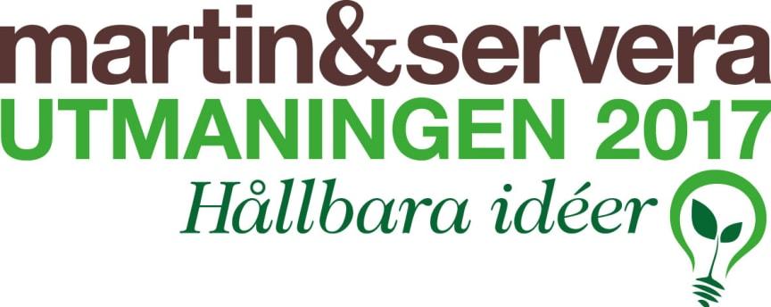 Logotype Martin & Servera Utmaningen 2017