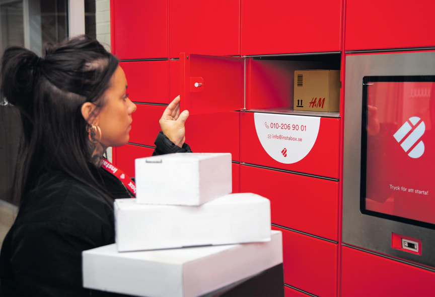 Instabox smart parcel lockers