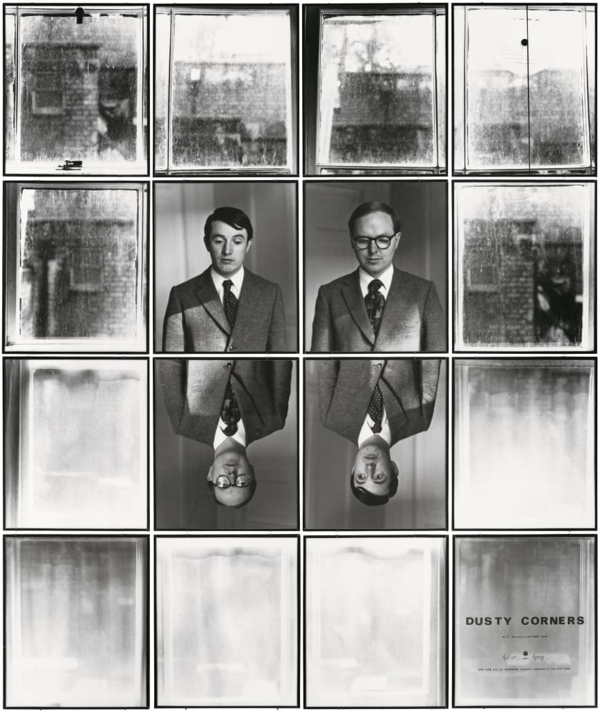 Gilbert & George, DUSTY CORNERS 13, 1975