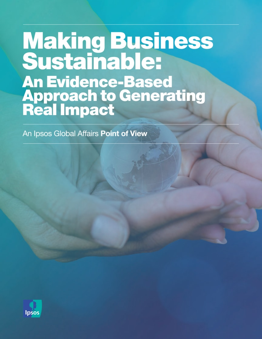 Making Business Sustainable: An Evidence-Based Approach to Generating Real Impact