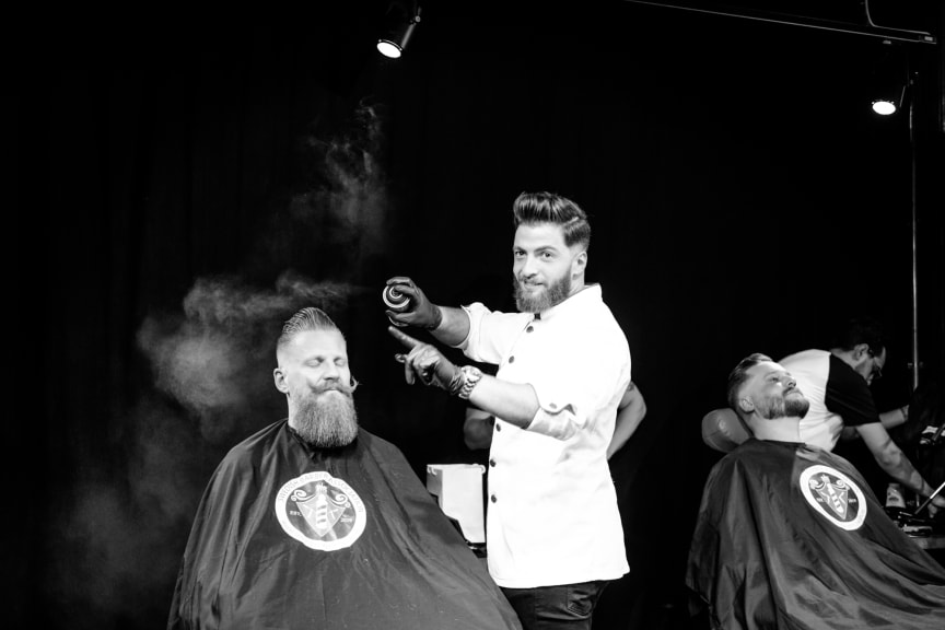 Omar Darwish, Sharper Barbershop
