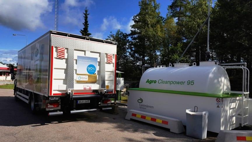 Arla tankstation Kallhäll mejeri 2