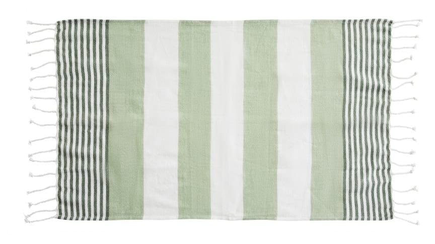 Hamam handduk liten ECO 50 x 70 cm, grön
