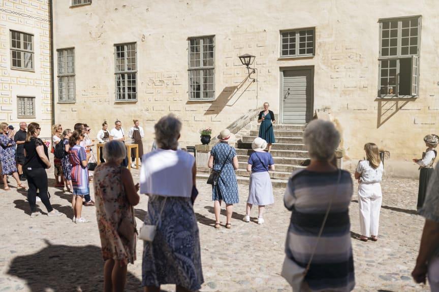 Kalmar Slott - invigning av Kungsköket