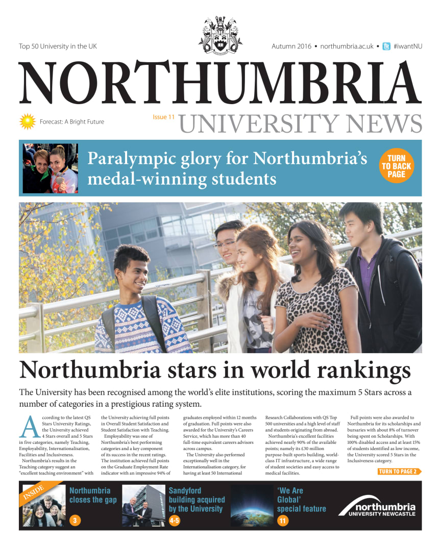 Northumbria Univerity News Issue 11