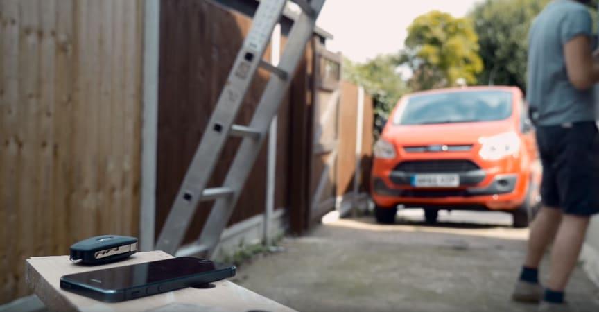 Ford Transit nøgle