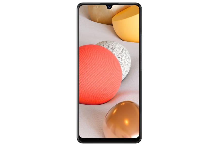 Galaxy A42 5G_Black_Front