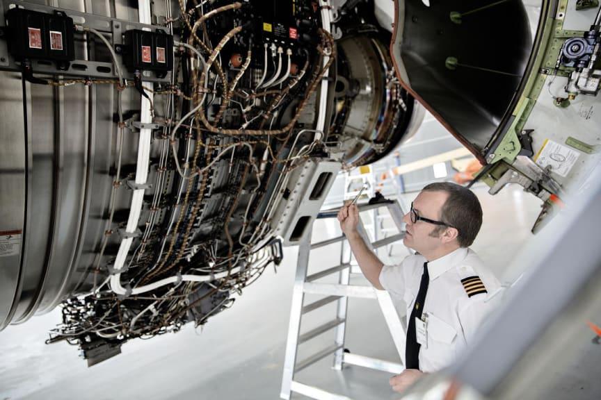 Boeing's MRO workshop at Copenhagen Airport