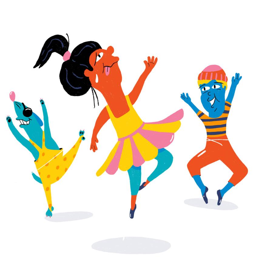 Ballettillustrasjon, Verdens Kuleste Dag