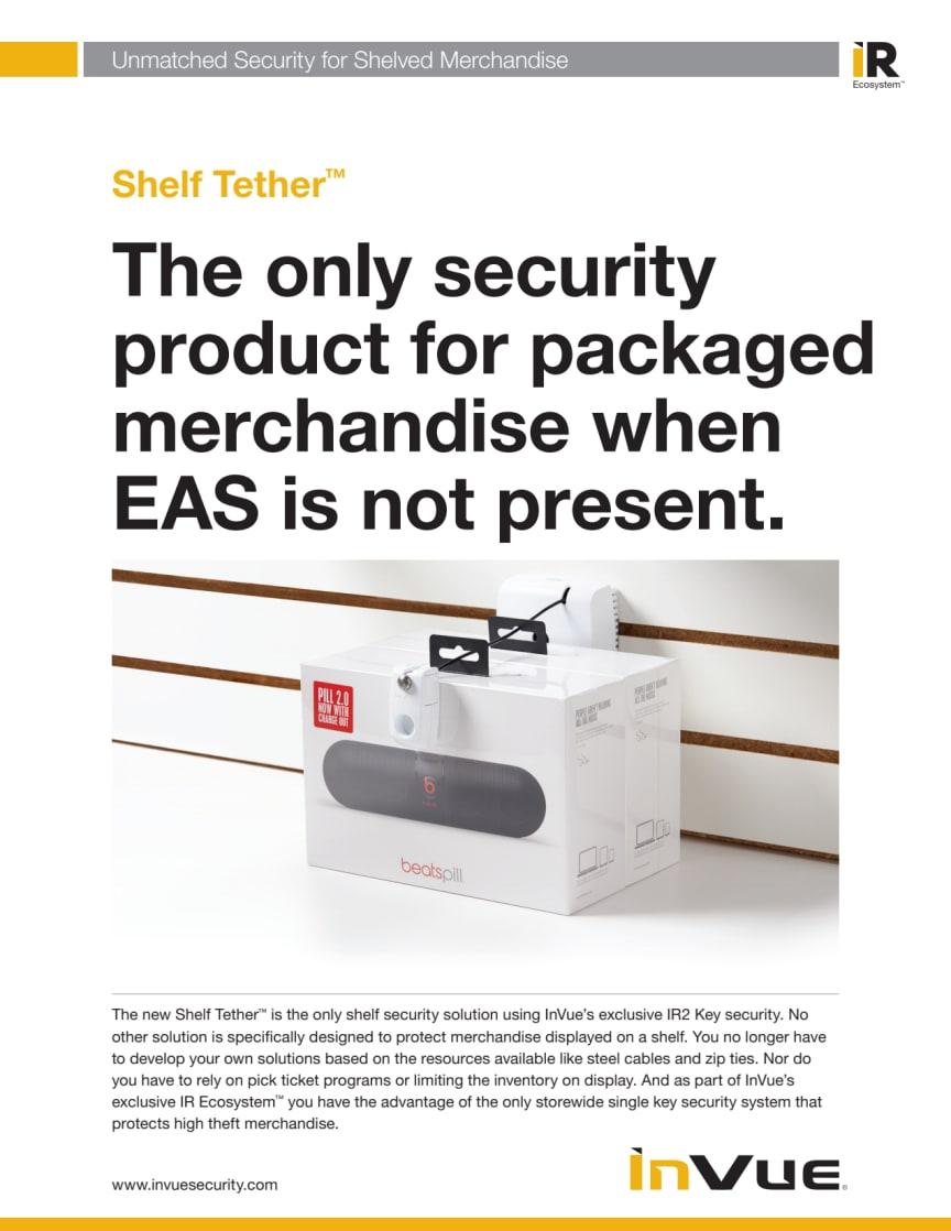 Varularm från Gate Security - InVue, Shelf Tether