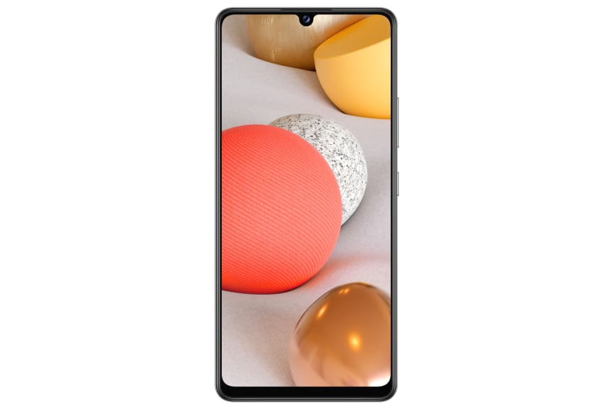 Galaxy A42 5G_White_Front