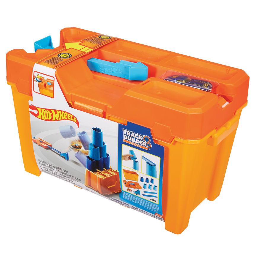 Track Builder System Fässer Stunt Box