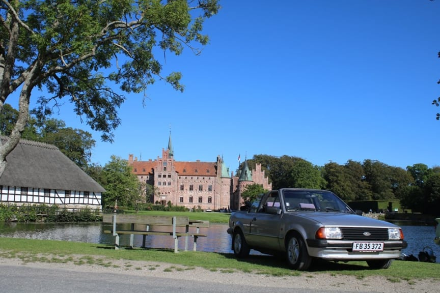 Sensommertræf på Egeskov Slot