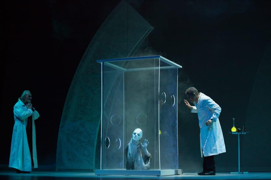 Faust am Goetheanum: ‹Faust 2›, II. Akt: Laboratorium