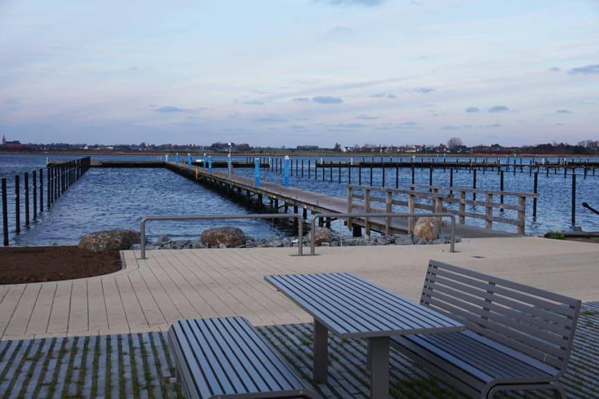 Grillplatz am Yachthafen