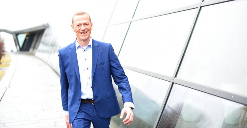 Ove Fredheim, leder for Telenors bedriftsmarked.