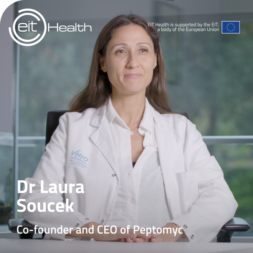 Peptomyc CEO Laura Soucek