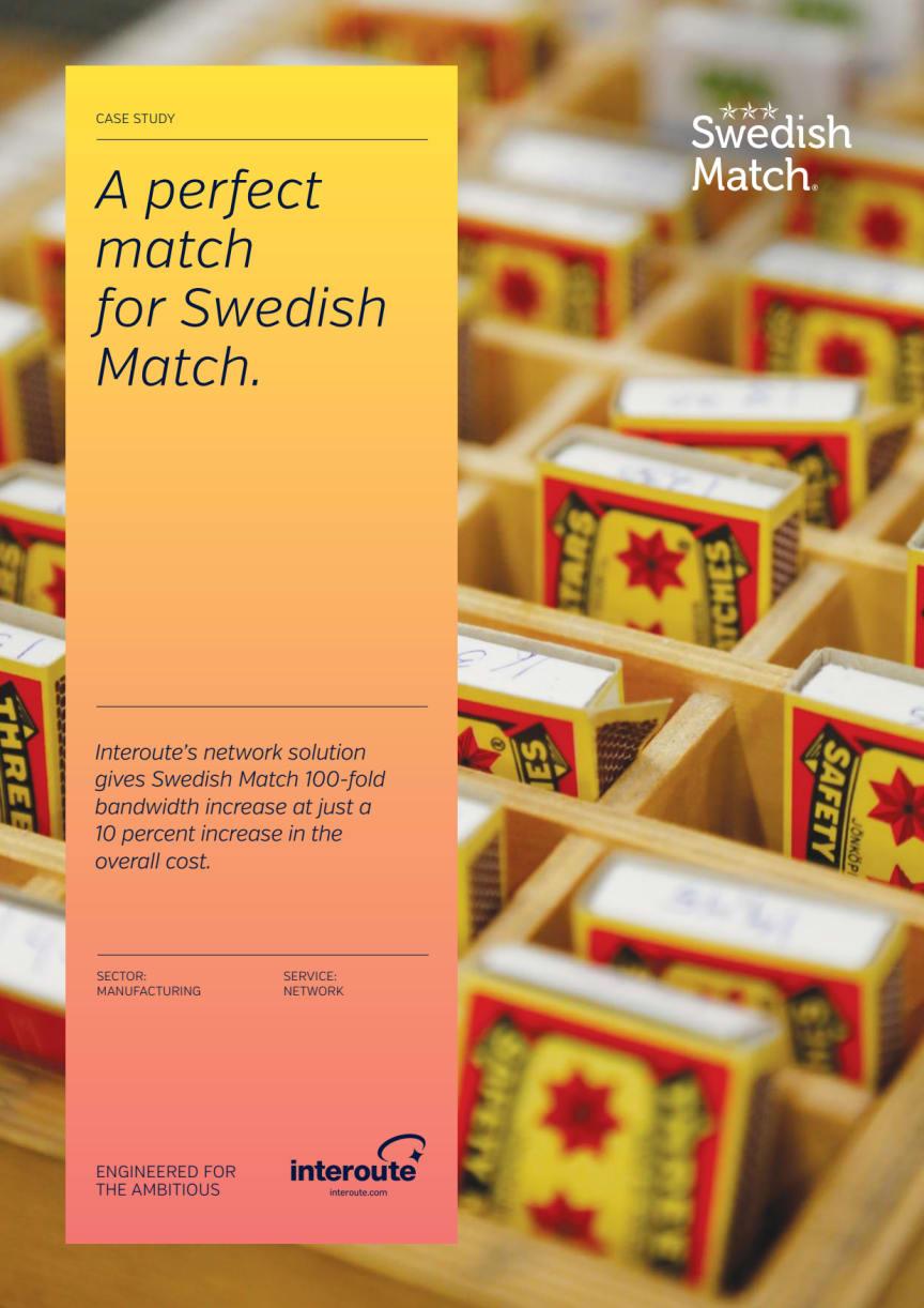 The Swedish Match Case Study