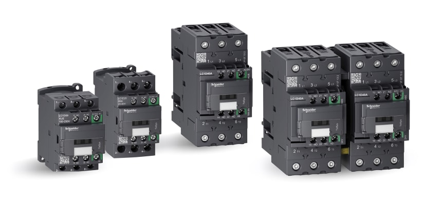 Schneider Electric Tesys Green -kontaktorit