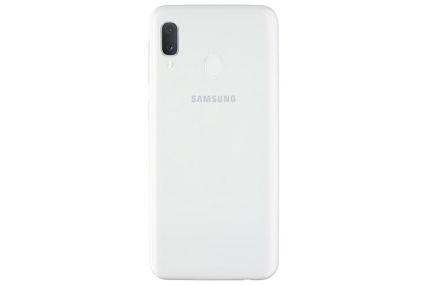 Galaxy A20e_white_back