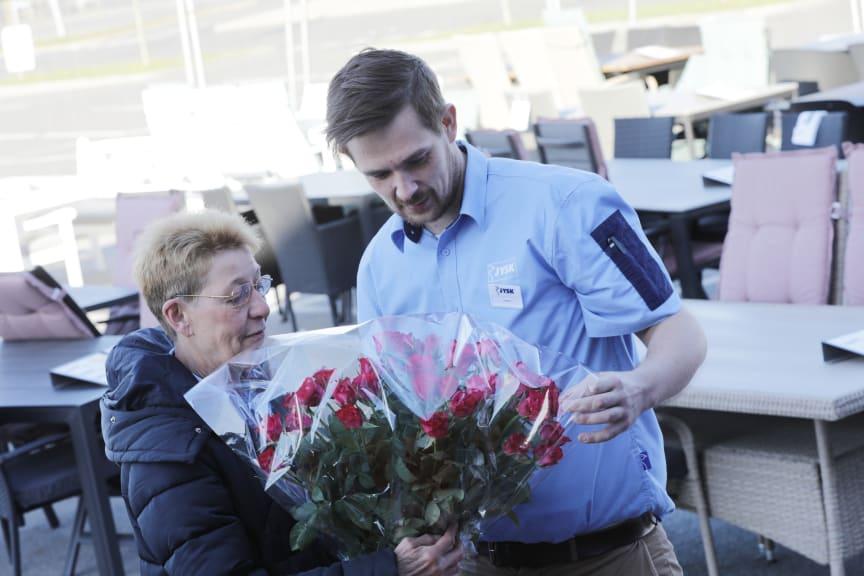 Jéan Lili Brøns og Jesper Kjældgaard til 40-års jubilæum