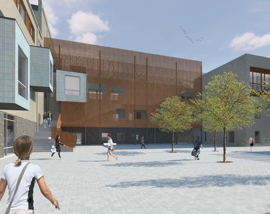 Skola och förskola i Varvsstaden