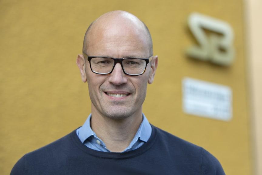Stefan Sandberg, vd på Svenska Bostäder